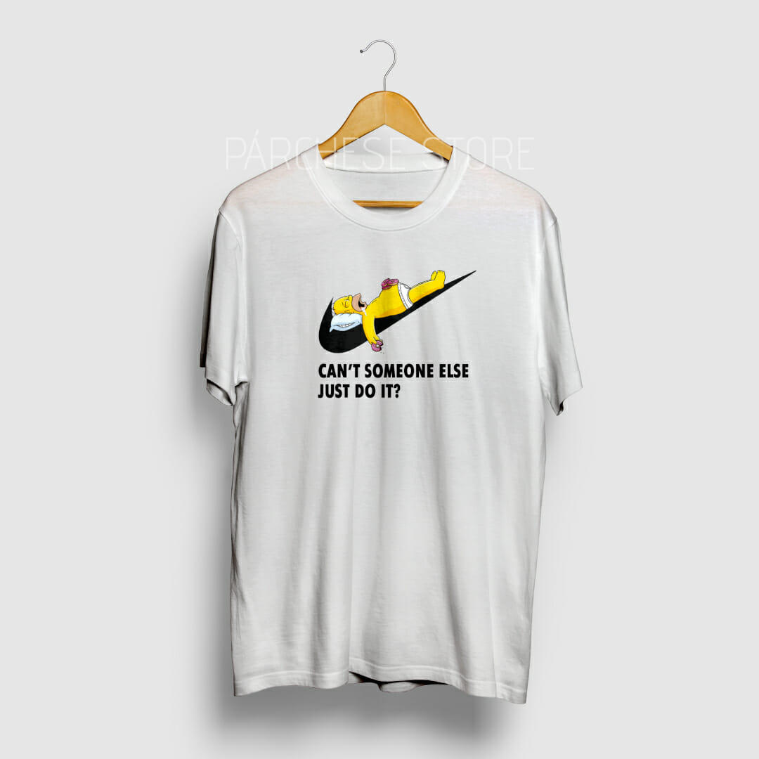 oleada pistola Responder  Camiseta Nike y Homero hombre - Párchese Store